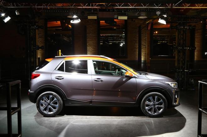 Kia Stonic - doi thu nang ky cua Ford Ecosport ra mat hinh anh 3