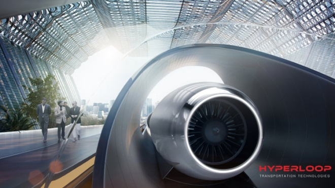 Han Quoc muon xay dung Hyperloop cho ty phu Elon Musk hinh anh 1