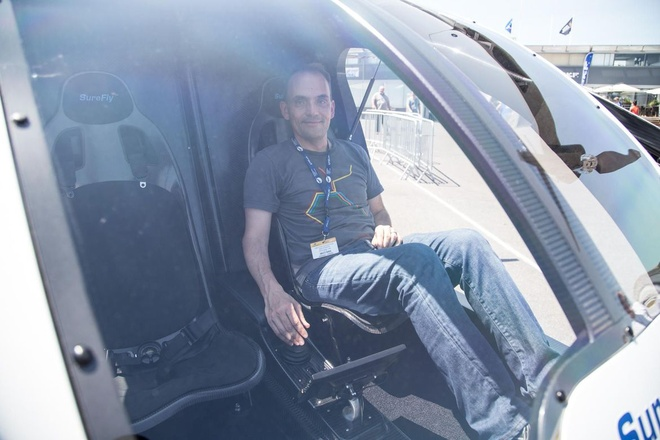 Workhorse SureFly - may bay ca nhan gia ngang sieu xe Audi R8 hinh anh 12