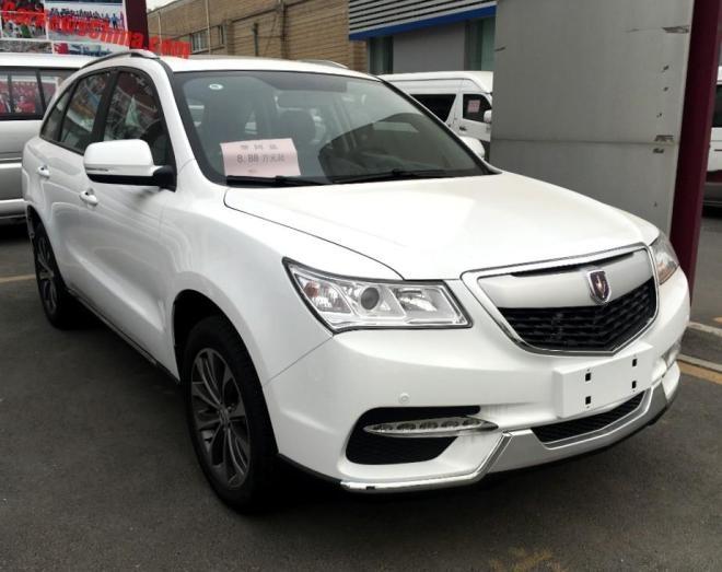 Hang san xuat Trung Quoc che xe nhai Acura MDX gia 11.500 USD hinh anh 1