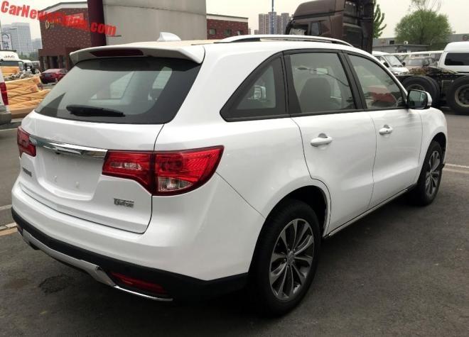 Hang san xuat Trung Quoc che xe nhai Acura MDX gia 11.500 USD hinh anh 8