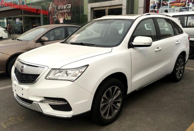 Hang san xuat Trung Quoc che xe nhai Acura MDX gia 11.500 USD hinh anh 5