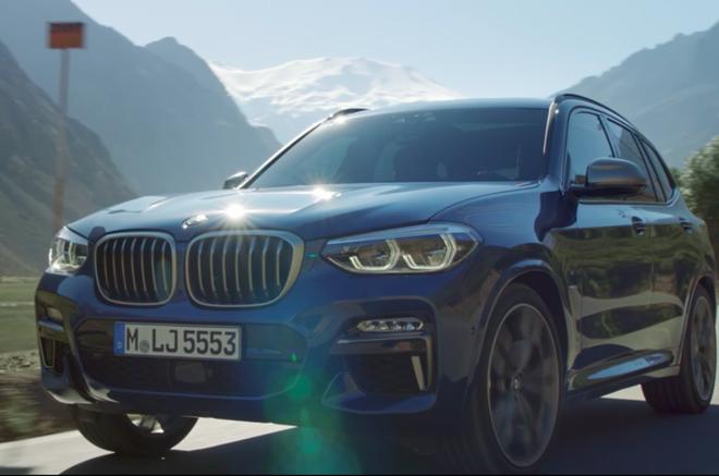 BMW X3 doi moi ra mat, trang bi cong nghe lai ban tu dong hinh anh 1