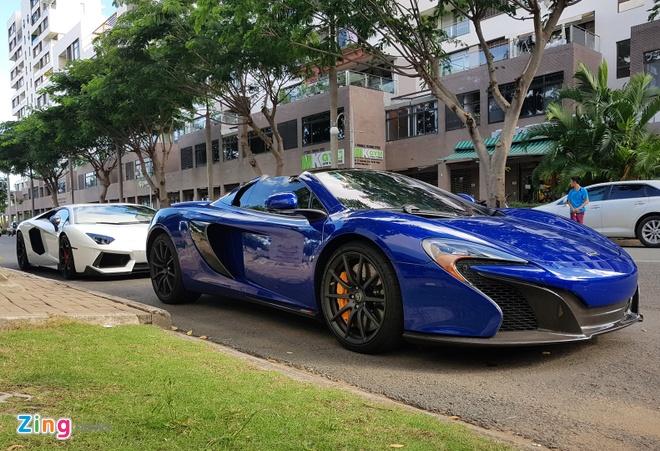 Cuong Do La su dung sieu xe McLaren 650S cua Minh Nhua hinh anh 6
