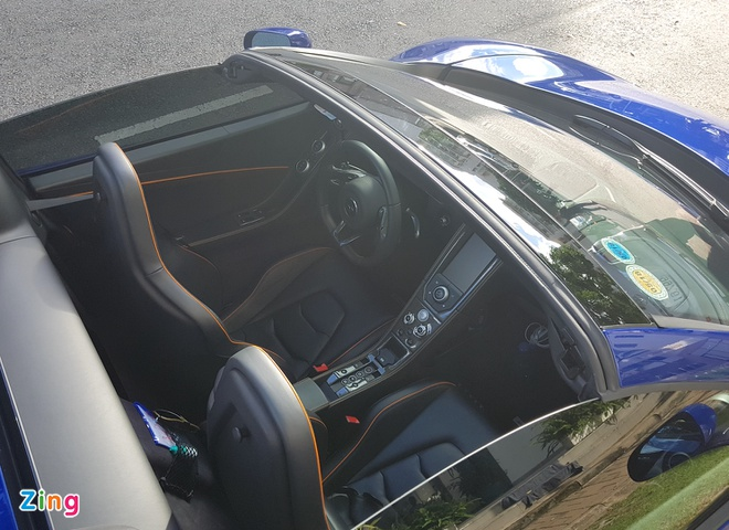 Cuong Do La su dung sieu xe McLaren 650S cua Minh Nhua hinh anh 7
