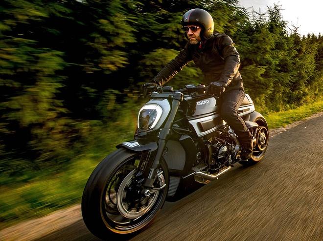 Ducati XDiavel S do phong cach cafe racer doc dao hinh anh