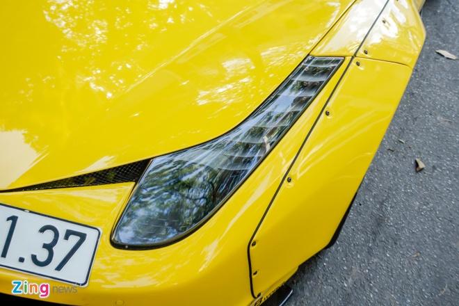 Sieu xe Ferrari 458 do than rong Liberty Walk dau tien tai Viet Nam hinh anh 6