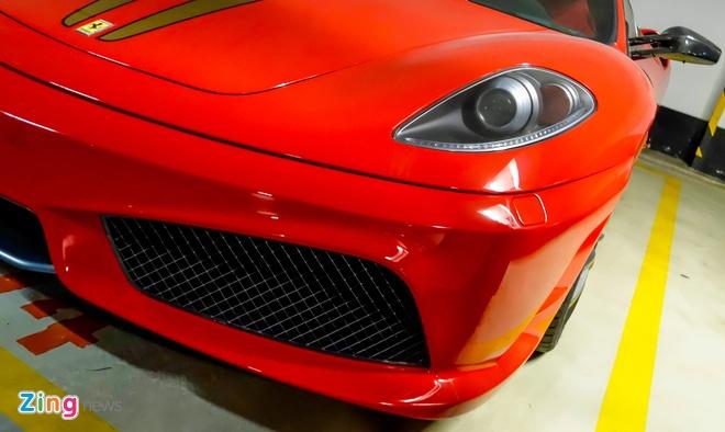 Ferrari F430 Scuderia trong vu Dung 'mat sat' xuat hien o Sai Gon hinh anh 3