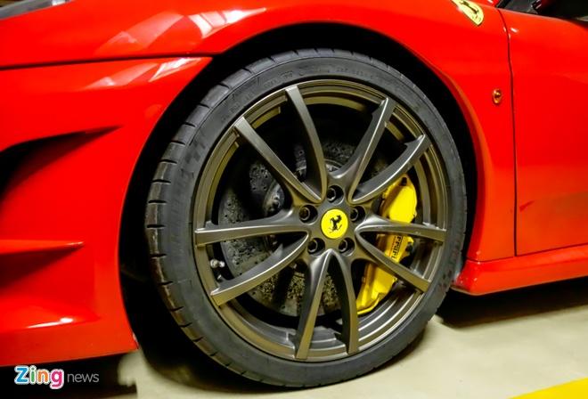 Ferrari F430 Scuderia trong vu Dung 'mat sat' xuat hien o Sai Gon hinh anh 6