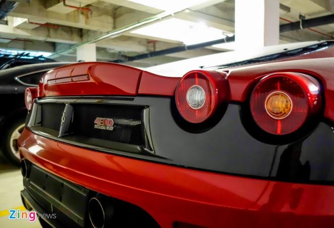 Ferrari F430 Scuderia trong vu Dung 'mat sat' xuat hien o Sai Gon hinh anh 7