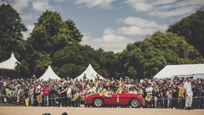 10 chiec Ferrari dac biet tai le hoi sieu xe Goodwood hinh anh 1