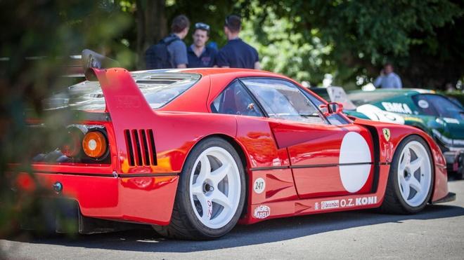 10 chiec Ferrari dac biet tai le hoi sieu xe Goodwood hinh anh 4