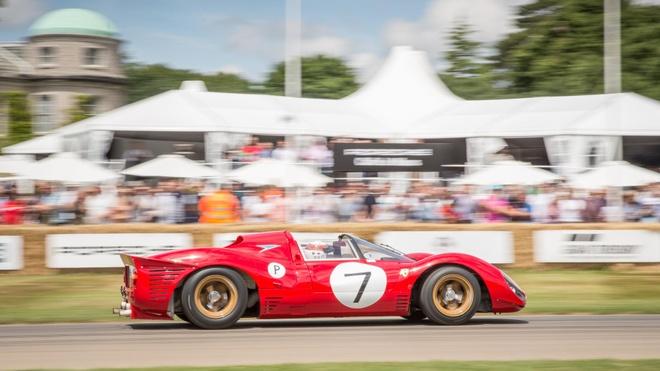 10 chiec Ferrari dac biet tai le hoi sieu xe Goodwood hinh anh 3