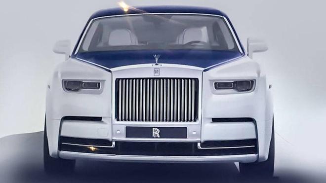 Lo anh thuc te ve Rolls-Royce Phantom the he moi hinh anh