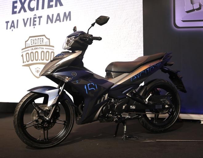 Yamaha Exciter ban dac biet mung 1 trieu xe ban ra tai Viet Nam hinh anh