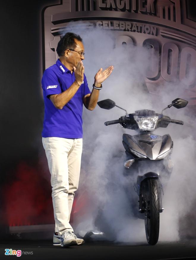 Yamaha Exciter ban dac biet mung 1 trieu xe ban ra tai Viet Nam hinh anh 1