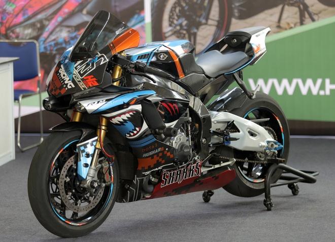 Sieu moto Yamaha R1M do tem ca map o Sai Gon hinh anh