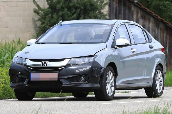 Honda City hybrid dang duoc thu nghiem hinh anh