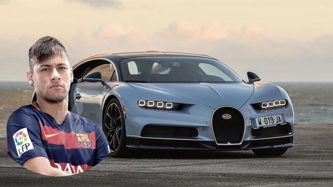 So tien mua Neymar mua duoc 86 chiec Bugatti Chiron hinh anh