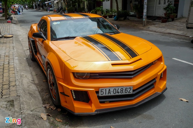 'Robot bien hinh' Chevrolet Camaro o Sai Gon hinh anh