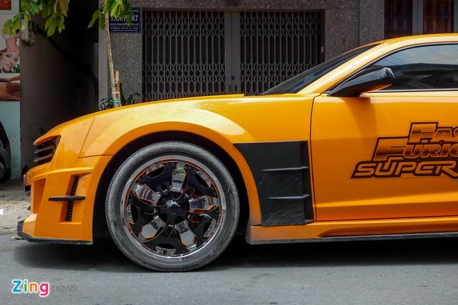 Chevrolet Camaro phong cach robot bien hinh anh 10