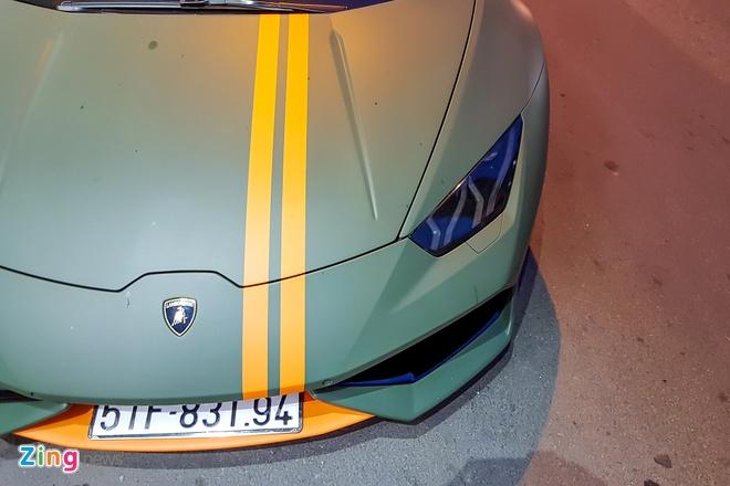 Lamborghini Huracan Avio o Sai Gon anh 5