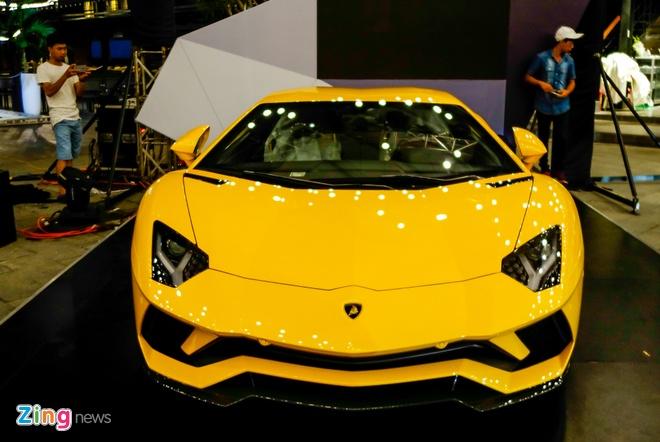 Lamborghini Aventador S ve tay dai gia Sai Gon anh 4
