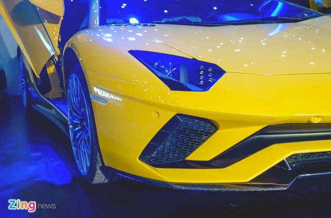 Lamborghini Aventador S ve tay dai gia Sai Gon anh 5