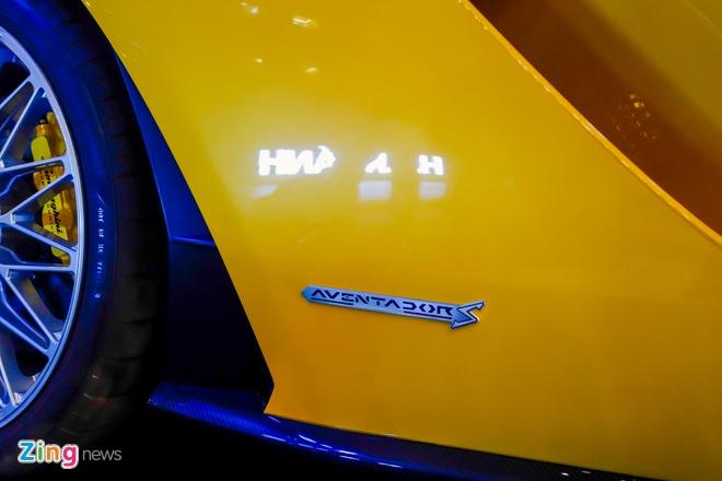 Lamborghini Aventador S doc nhat VN ve tay dai gia Sai Gon hinh anh 6