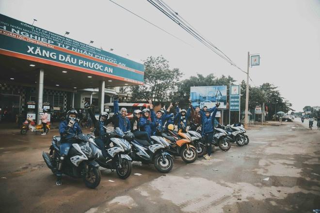 Vuot 450 km Sai Gon - Nha Trang bang Yamaha NVX hinh anh 1