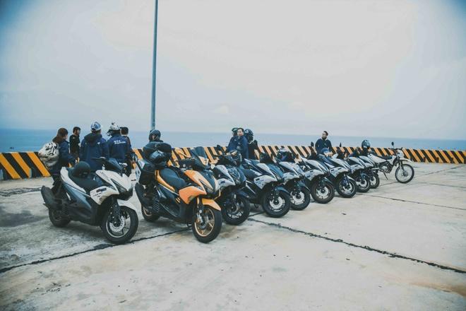 Vuot 450 km Sai Gon - Nha Trang bang Yamaha NVX hinh anh 4