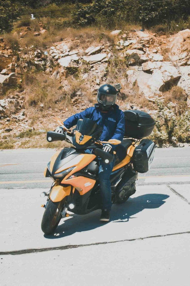 Vuot 450 km Sai Gon - Nha Trang bang Yamaha NVX hinh anh 6