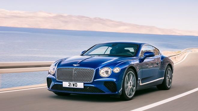 Xe sieu sang Bentley Continental GT 2018 ra mat hinh anh