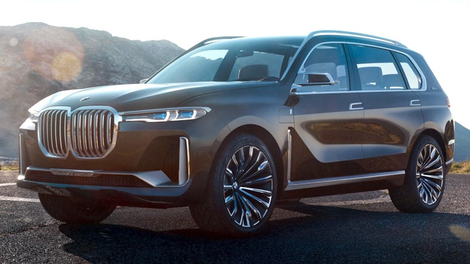 Lo hinh anh X7 Concept - SUV lon nhat cua BMW hinh anh 1