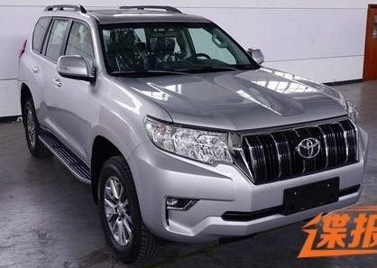 Toyota Land Cruiser Prado 2018 lo dien truoc ngay ra mat hinh anh