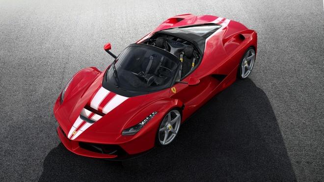 Ferrari LaFerrari Aperta cuoi cung ban gia 8,3 trieu Euro hinh anh 1