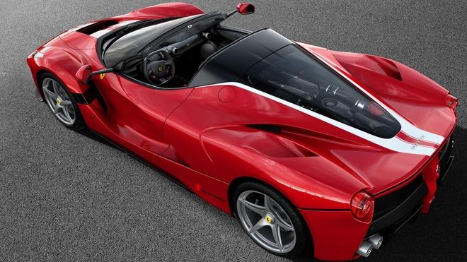 Ferrari LaFerrari Aperta cuoi cung ban gia 8,3 trieu Euro hinh anh 3