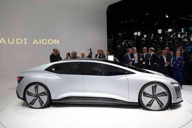 Audi gioi thieu Aicon - xe tu lai cap do 4 hinh anh