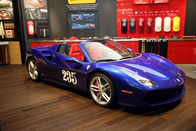 Ferrari ra mat sieu xe dac biet 488 Spider Heartthrob hinh anh