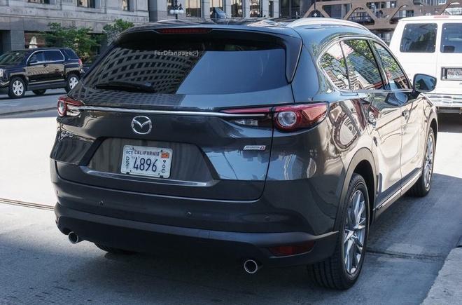 Mazda CX-8 ra mat tai Nhat Ban anh 4
