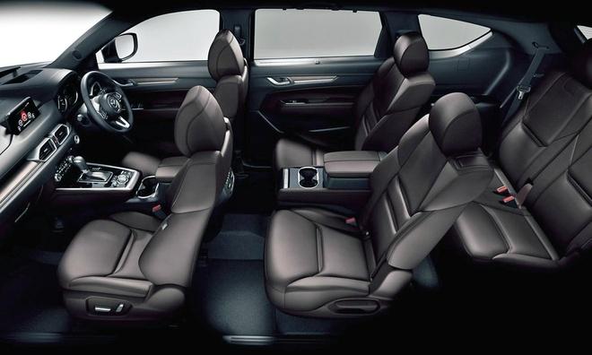 Mazda CX-8 ra mat tai Nhat Ban anh 6