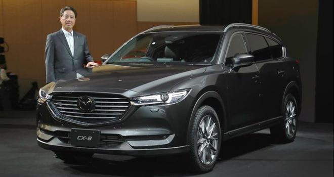 Mazda CX-8 ra mat tai Nhat Ban anh 9