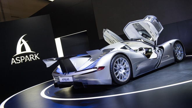 Aspark Owl - sieu xe dien tang toc nhanh hon Tesla Model S hinh anh 3