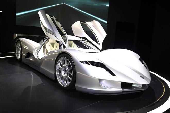 Aspark Owl - sieu xe dien tang toc nhanh hon Tesla Model S hinh anh 2