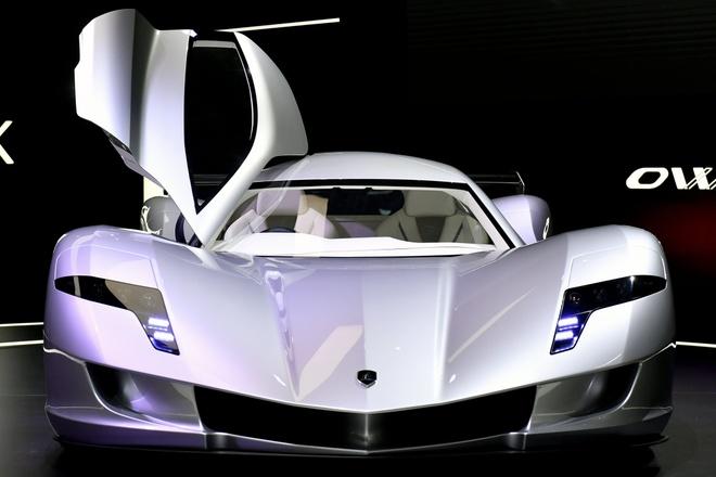 Aspark Owl - sieu xe dien tang toc nhanh hon Tesla Model S hinh anh 1