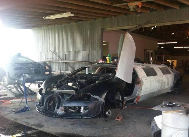 Bugatti Veyron bien thanh xe limousine hinh anh 3