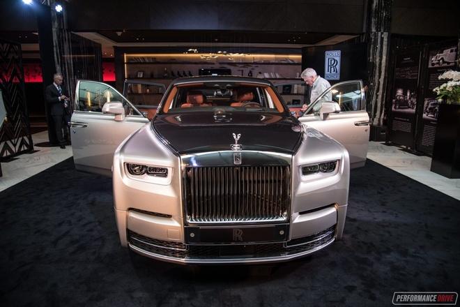 Rolls-Royce Phantom 2018 tuong duong 17 ty dong tai Australia hinh anh 1