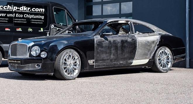 Bien sedan sieu sang Bentley Mulsanne thanh xe hai cua hinh anh 1
