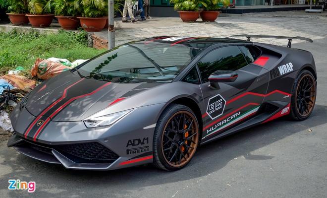 Lamborghini Huracan do la mat xuat hien gan trien lam xe VIMS hinh anh 1