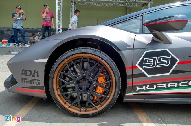 Lamborghini Huracan do la mat xuat hien gan trien lam xe VIMS hinh anh 5